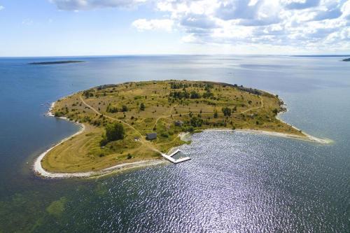 Flygfoto Gotland Slite