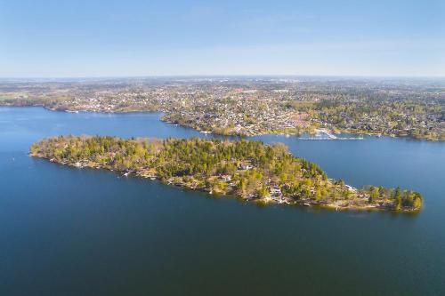Flygfoto Stockholm Hässelby