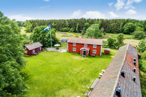 Flygfoto Uppsala Arholma