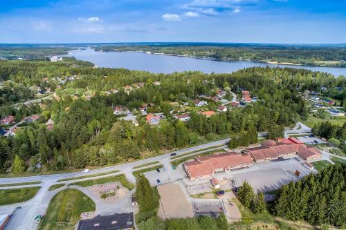 Flygfoto Uppsala Bålsta Skokloster