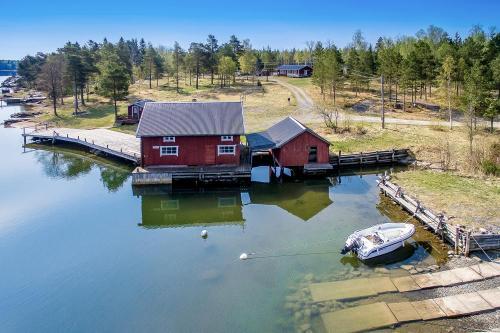 Flygfoto Uppsala Raggarön